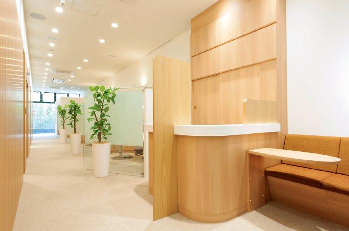 限られたスペースにDr.ビーチが理想とした診療空間を忠実に再現。