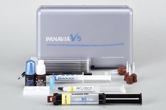 図1 パナビアV 5 レジンセメント。
