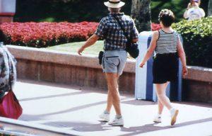 アメリカの中年夫婦の体形2